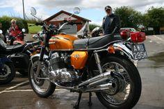 Honda Cb750, Honda Motorcycles, Japanese Motorcycle, Classic Bikes, Custom Bikes, Automobile, Planes, Trains, Boats