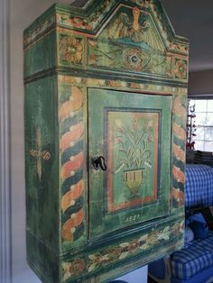 Have You Always Wanted An Antik Swedish Cabinet Look No Further   eBay