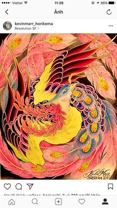 Japanese Pheonix Tattoo, Japanese Tattoo Art, Phoenix Drawing, Phoenix Art, Small Phoenix Tattoos, Phoenix Tattoo Design, Body Art Tattoos, Sleeve Tattoos, Fenix Tattoo
