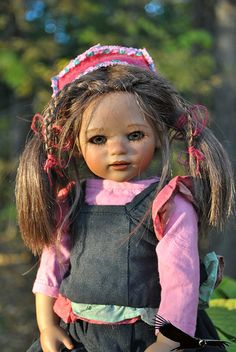 At the miracle has a name. Kleine Reki from Annette Himstedt. / Collector doll Annette Himstedt / Beybiki. Photo Dolls. Clothes for dolls
