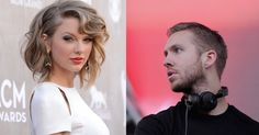 This photo shows the exact moment that Taylor Swift met boyfriend Calvin Harris.