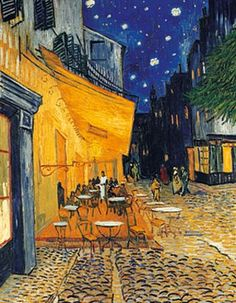 Cafe Terrace Arles Vincent van Gogh print for sale. Shop for Cafe Terrace Arles Vincent van Gogh painting and frame at discount price, ships in 24 hours. Cheap price prints end soon. Vincent Van Gogh, Van Gogh Museum, Van Gogh Pinturas, Art Timeline, Van Gogh Art, Art Van, Van Gogh Paintings, Kunst Poster, Post Impressionism