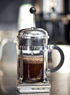 drink really good coffee everyday