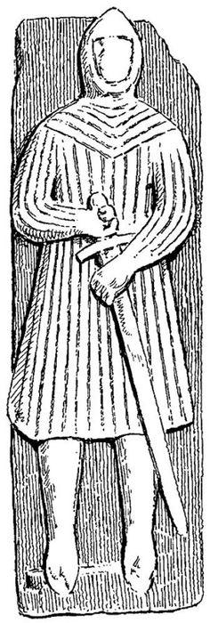 Effigies & Brasses: Maclean of Coll (1300)