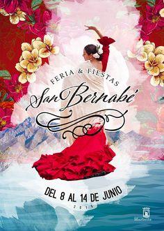 El Ayuntamiento presenta el cartel anunciador de la Feria y Fiestas de San Bernabé 2015, obra de Daniel Rodríguez