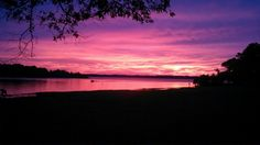 Sunset at Mills Creek Park, Brookeland Tx July-2013