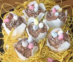 Resultado de imagen para receta de torta con forma de huevos de pascua