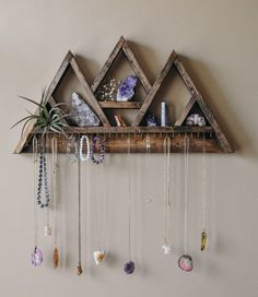 Your place to buy and sell all things handmade – pants hanger diy Jewellery Storage, Jewellery Display, Jewelry Organization, Jewellery Stand, Etsy Jewelry, Custom Jewelry, Jewelry Crafts, Vintage Jewelry, Jewelry Hanger