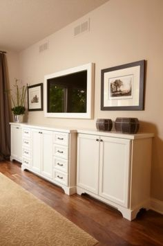 Living Room TV Console Design, Pictures, Remodel, Decor and Ideas ...