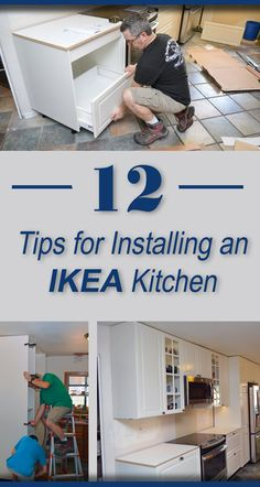 Check out my 12 hot, in-depth tips to save time, money, and frustration installing an IKEA cabinet kitchen. diy IKEA kitchen remodel renovation cabinets powertools do-it-yourself SEKTION BODBYN Kitchen 280841726749670467 Ikea Kitchen Remodel, Ikea Kitchen Cabinets, Kitchen Furniture, Kitchen Decor, Furniture Stores, Ikea Kitchen Diy, Furniture Market, Apartment Kitchen, Installing Kitchen Cabinets