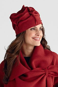 Patchwork Cap: Mieko Mintz: Wool Hat | Artful Home