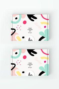 - concept for ilo women starter kit packaging. Logo Design, Poster Design, Label Design, Print Design, Web Design, Package Design, Brand Packaging, Box Packaging, Packaging Design Box