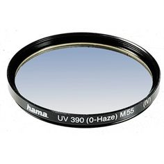 Protect your lens from dust and save your pictures from those horrible UV rays.