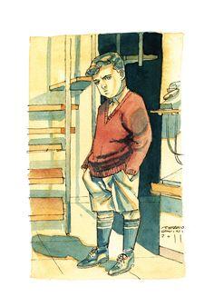 Stefanino in Di altre storie di altri eroi di Stefano Casini http://www.tunue.com/di-altre-storie-e-di-altri-eroi/