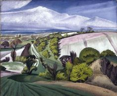 The Edge of the Plain by John Northcote Nash