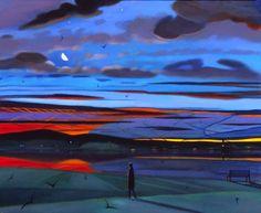 Evening; Tor Lundvall