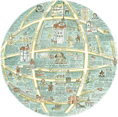 A Map Of William Shakespeare's Shordiche   http://spitalfieldslife.com/wp-content/uploads/2015/12/shakespeare.jpg