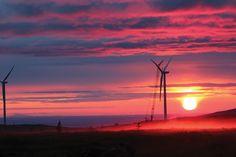 Photographer: Joe Ebertsch Submitter: Jill Badzinski, Michels Corp. Title: Eva Creek Wind Farm, Ferry, Alaska, USA