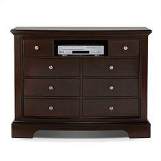 Kennedy Bedroom Media Chest | Furniture.com $594.99