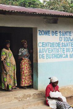 At the Bushonga health centre - , Sud-Kivu - Democratic Republic of Congo