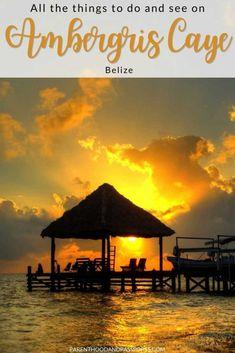 Ways To Travel, Travel Advice, Travel Tips, Ambergris Caye, Caribbean Culture, Belize City, Swim Up Bar, Ski Touring, Belize Travel