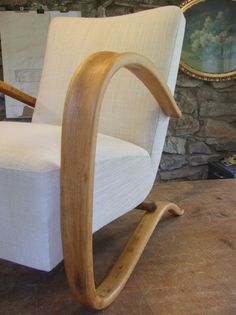 Hotové křeslo. Rocking Chair, Restoration, Chairs, Retro, Furniture, Home Decor, Chair Swing, Decoration Home, Room Decor