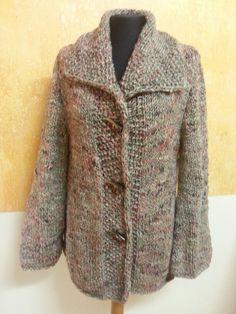 Chaqueta realizada con lana cheviot de Katia