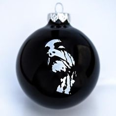 Century Media - Black Metal Face Christmas Ornament (Black)