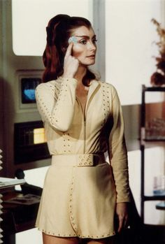 Catherine Schell as Maya - Space: 1999
