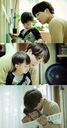 kai cute Oh! My Baby : Kai with Taeoh - proksim Exo Ot12, Kaisoo, Chanbaek, Kyungsoo, Chanyeol, Bts And Exo, Exo Kai, Jo Eun Hee, Tae Oh