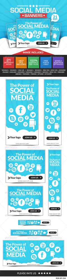 Social Media Marketing Banners Template PSD | Buy and Download: http://graphicriver.net/item/social-media-marketing-banners/8319161?WT.ac=category_thumb&WT.z_author=BannerDesignCo&ref=ksioks