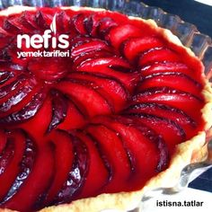 Erikli Tart Pasta Cake, Biscuits, Prune, Ratatouille, Strudel, Tea Time, Food And Drink, Cheesecake, Favorite Recipes