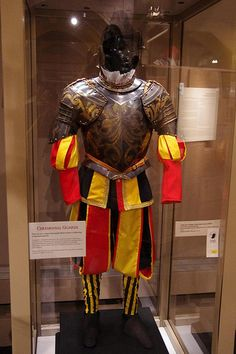 Armour for a member of the Papal Guard Swiss Guard, Honor Guard, Knight Armor, Northern Italy, 16th Century, Pop, Superhero, Warriors, Weapons