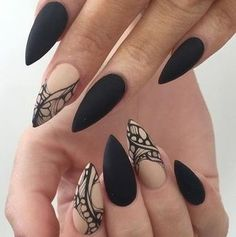 nice 10 Coolest Stiletto Nails To Rock For - Stylendesigns.com!