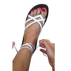 Juleya Sandales Plates Femmes Été Femme Chaussures Lacets à Bride Cheville en Cuir Confort Sandals Macbook Air 13, Sandals, Shoes, Fashion, Heeled Sandals, Leather, Wall Plug, Women, Moda