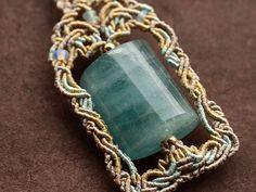アクアマリン 天然石ネックレス