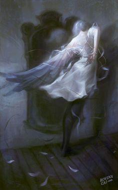 digital paintings and drawings by Rovina Cai Rovina Cai an Australian illustrator currently based in New York City.Rovina Cai an Australian illustrator currently based in New York City. Dark Fantasy, Fantasy Art, Kunst Online, Weird Dreams, Portraits, Fantasy Illustration, Gothic Art, Museum, Dark Art