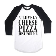 A Lovely Cheese #Pizza Just For Me by AwesomeBestFriendsTs on Etsy