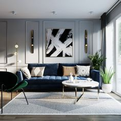 How do you find this modern living room furniture? Classic Living Room, Living Room Modern, Home Living Room, Interior Design Living Room, Living Room Decor, Modern Contemporary Living Room, Interior Livingroom, Glamorous Living Rooms, Luxury Living Rooms