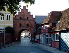 Faaborg. Denmark. On one side of this arch, there was, and may still be, a toy store.  It was like nothing I have ever seen!