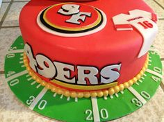 49ers Cake Design | 49ers Cake - Cake Decorating Community - Cakes We Bake