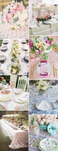 Patterned Table Runners For Weddings