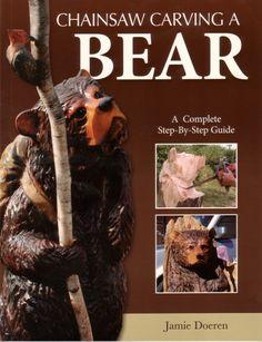 -chainsaw carve bear.