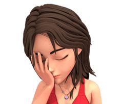 Jessica in social world – Stickers LINE Cute Cartoon Pictures, Cute Cartoon Girl, Cartoon Girl Drawing, Cartoon Pics, Bon Mardi Humour, Funny Emoticons, Animated Emoticons, Emoji Love, Smiley Emoji