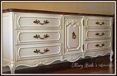 Sophisticated White Dresser