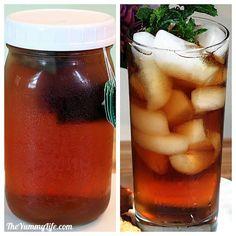 Fridge tea with no bitterness