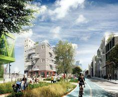 ADEPT and Mandaworks Design Masterplan for Stockholm's Royal Seaport: