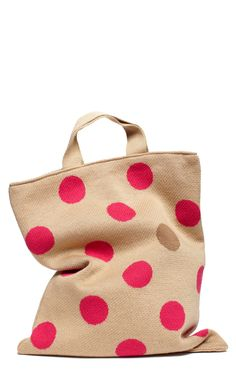 pink polka dot bag / hansel from basel perfect for toting around my macbook pro Polka Dot Bags, Pink Polka Dots, Pink Dot, Polkadot Pink, Boho Hippie, Fashion Shoes, Fashion Accessories, Girl Fashion, Womens Fashion