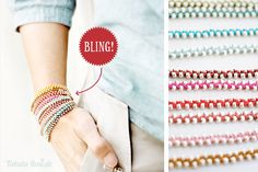 DIY-Bracelets tutorial - by Tabula Rosi