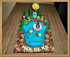 příprava na dort krtečka a paraplíčko , figurky, fotopostupy | Dorty od mamy Desserts, Kids, Cakes, Food, Tailgate Desserts, Young Children, Deserts, Boys, Cake Makers